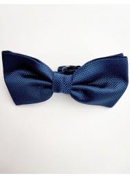 Ефектна мъжка папийонка цвят тъмно синьо Navy Blue