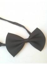 Черна детска папийонка