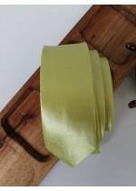 Оригинална вратовръзка за младоженец в цвят лайм