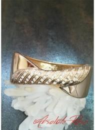 Елегантна гривна с инкрустирани кристали