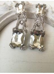 Обици с кристали - Crystal Shine