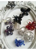 Кристални пръстени за сватба и бал
