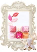 Бонбони цветен шоколад за сватба
