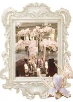 Под наем- декорации, съдове и ефекти за сватбения прием