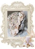 Сватбени Букети Лукс с брошки и кристали